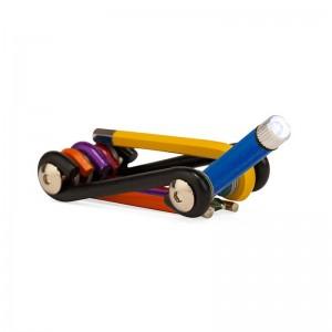 Set Multi Tool Arcoiris con Luz