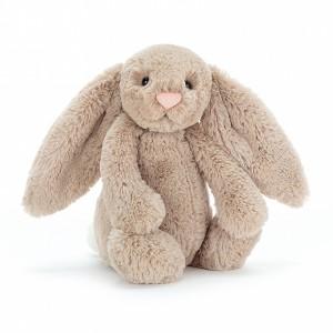 Conejo beige mediano