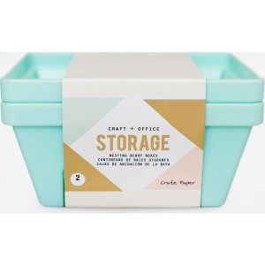 2 contenedores Storage celeste